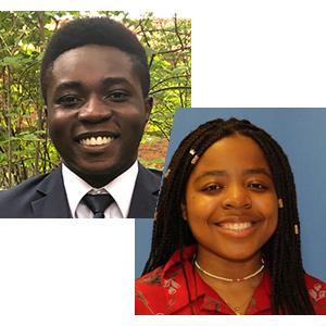 Elijah Gyansa & Monica Tonle